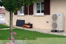 Installation d'une pompe à chaleur pour le chauffage de sa maison